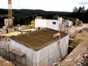 Wasserkammern 2 x 300 m³ Inhalt