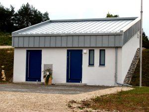 Bedienungshaus, HB 600 m³